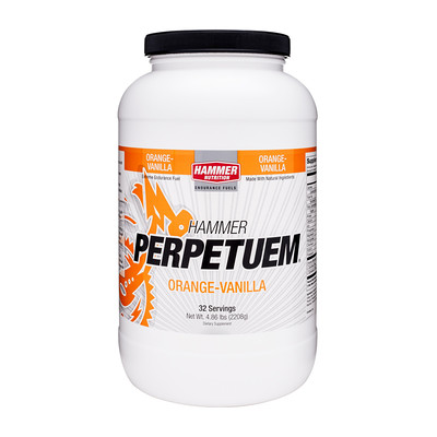Perpetuem Extreme endurance fue,l Provides reliable, long-lasting energy, Maximizes fat utilization, Helps prevent muscle fatigue Caffé Latte contains caffeine, Orange-Vanilla, Strawberry-Vanilla Won best of MTBR award in 2005 and 2006