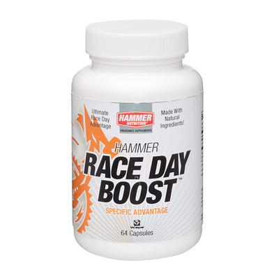 Race Day Bost Boosts performance time up to 8%, ncreases endurance, Reduces lactic acid