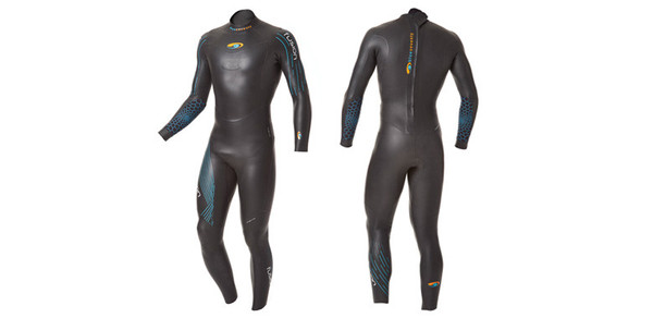 Fusion Full Suit     Price $325   The Fusion provides everything you need when it comes time to take your open water swimming to the next level. A fantastic fit, a design with a buoyancy emphasis in the legs and top neoprene, the Fusion is designed to be comfortable and promote downhill swimming, allowing you to concentrate on your stroke, not the suit.