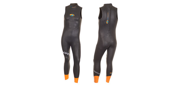 Sprint Sleeveless    Price $195   The Sprint ups the ante of what an entry-level wetsuit should be. We studied the competition. We spoke to beginners and seasoned athletes. We moved seam lines, added buoyancy, improved flexibility and added some exciting features not available in the rest of our wetsuit line. The result is a suit that sets the standard for how an athlete's first wetsuit should fit, perform and feel. Because how you feel out in the open water is everything.