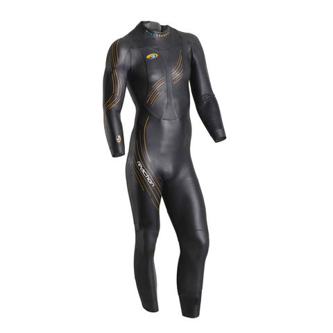 Reaction Full Suit Price $500 Every aspect of this suit is designed for high performance without sacrificing comfort. Since it's introduction in 2006 the Reaction has helped more athletes accomplish their goals than any other wetsuit. Premium 39 cell Yamamoto rubber achieves superior buoyancy throughout the entire suit. Proven RST panels paired with oversized high stretch arm gussets allow unrestricted reach in the water, while the finest Japanese sourced neoprene delivers enhanced flexibility and buoyancy. Slippery SCS coating reduces drag. Our low neckline and VO2 chest panel create a suit that optimizes energy and swims as fast as it looks.