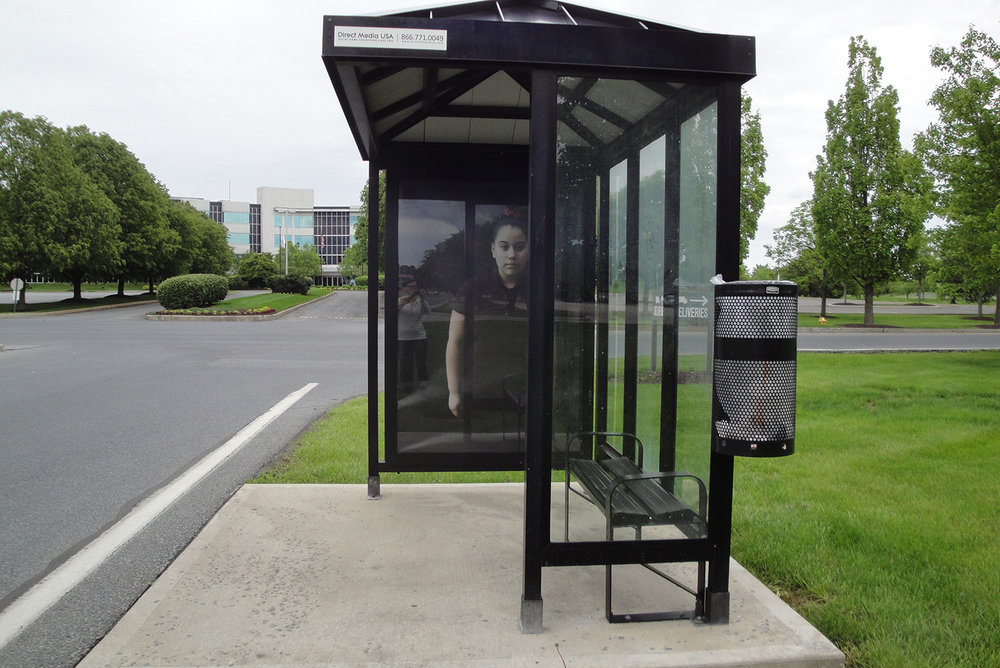 The Middle School Project, 1/11 Bus Shelters, Lehigh Valley, PA   2016