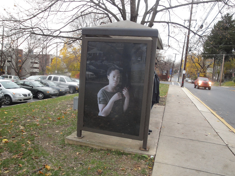 Falling From Grace..., 1/11 Bus Shelters, Lehigh Valley, PA   2011