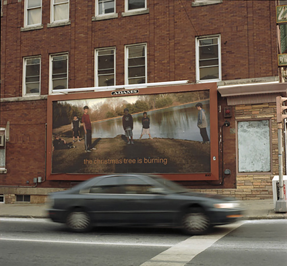 The Christmas Tree is Burning, 1/4 Billboards, Lehigh Valley, PA   2006