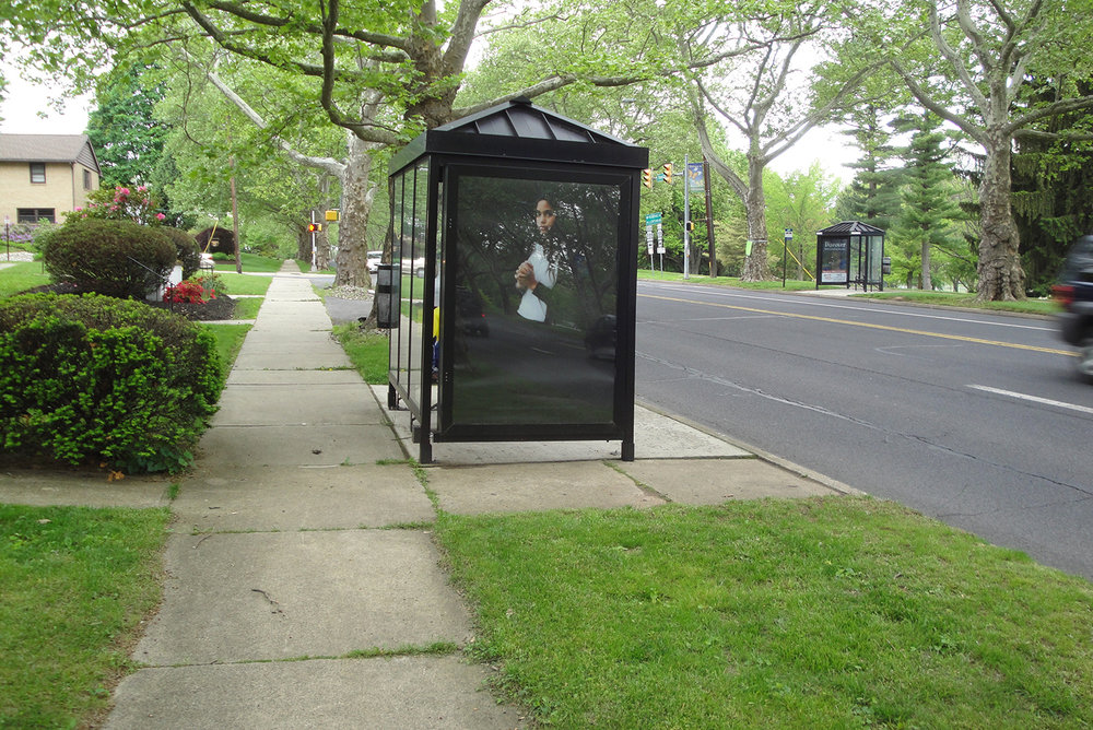The Middle School Project, 1/ 11 Bus Shelters, Lehigh Valley, PA  2016