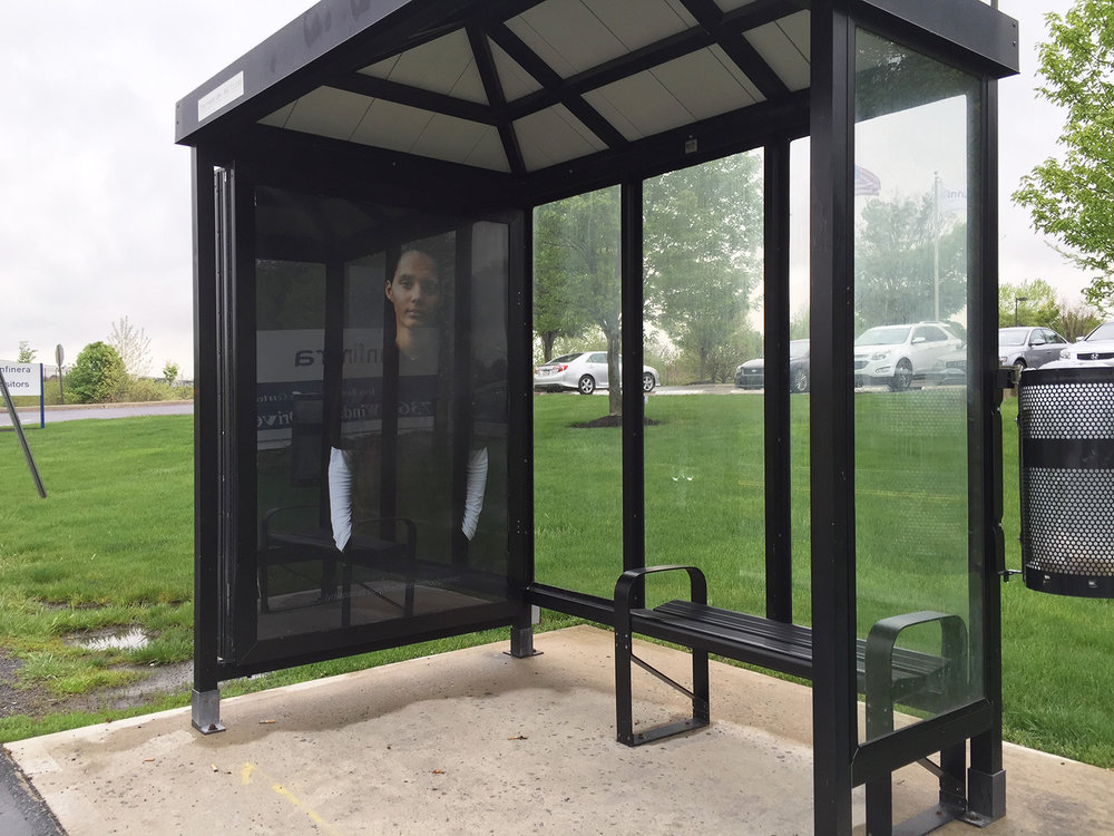 The Middle School Project, 1/11 Bus Shelters, Lehigh Valley, PA  2015