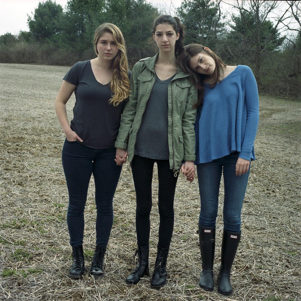 Eryn, Ilana and Melissa