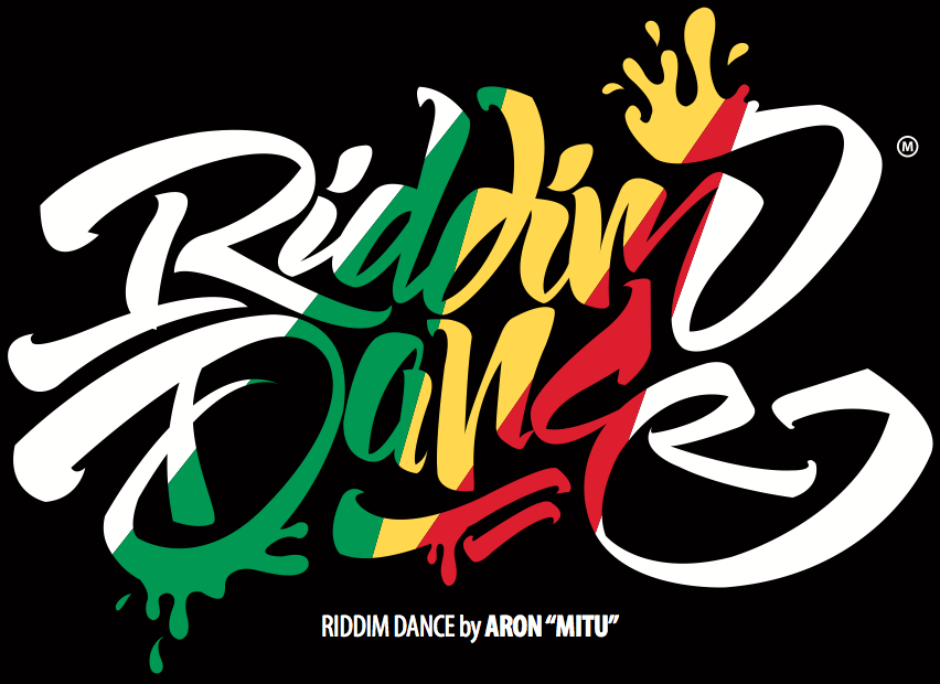 Riddim Dance Logo Black
