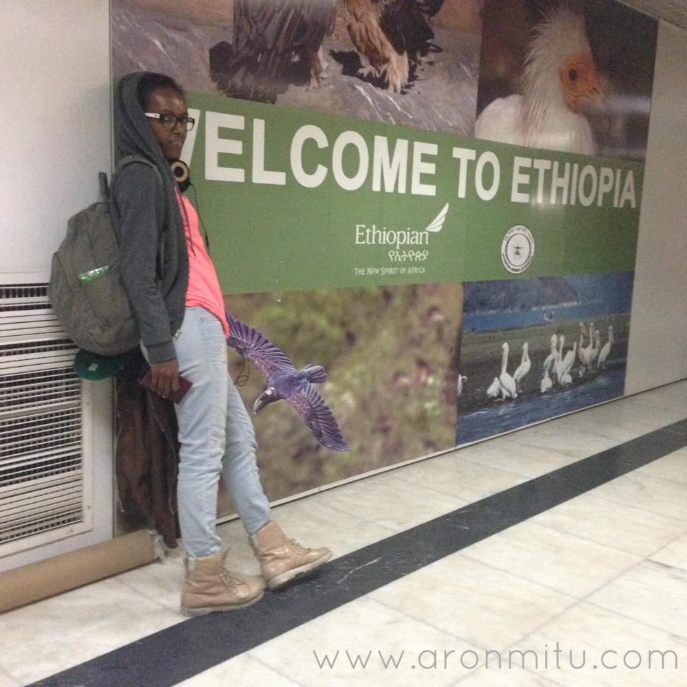 """Aron""""MITU"""" Ethiopia Airport"""