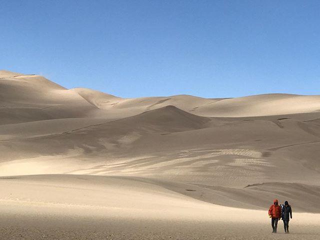 The Sahara in Colorado. We cold.