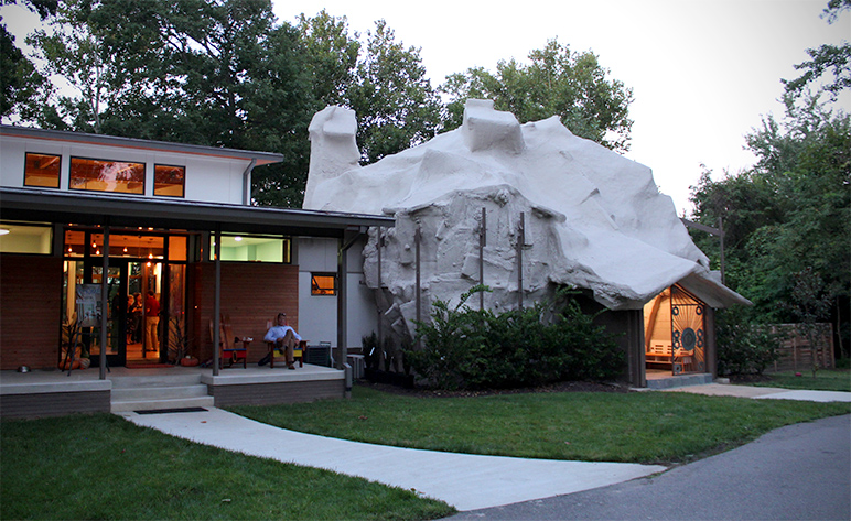 modern house richmond va