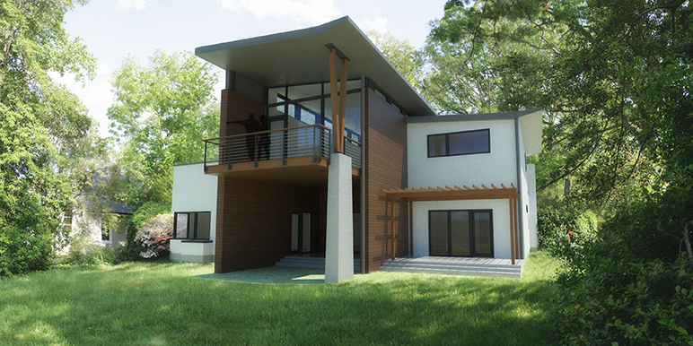 watershed architecture construction - Modern Townhouse Architecture