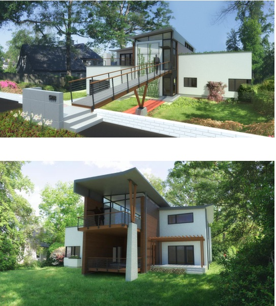 5208 Riverside Drive. Watershed Architects