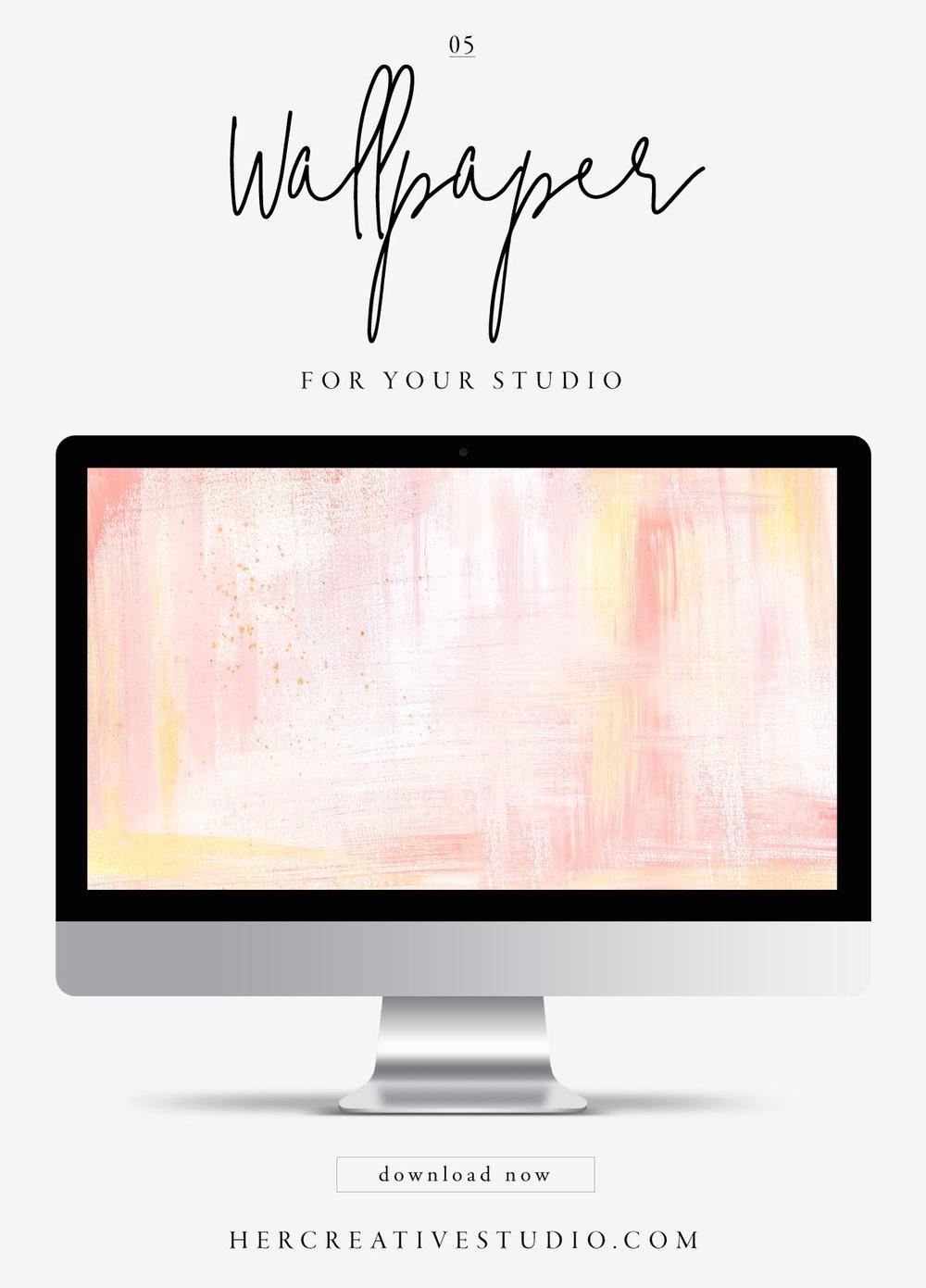 FREE Desktop Wallpaper from Her Creative Studio