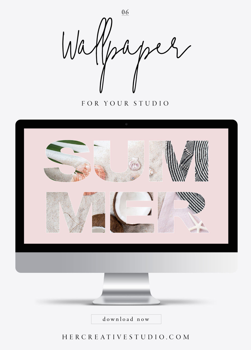 FREE Wallpaper download from her Creative Studio