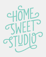 Home Sweet Studio | Hinton Graphic Design & Art Direction