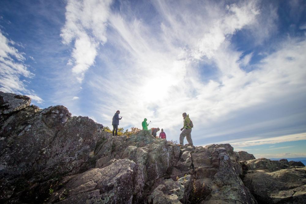 Hawksbill Summit, Fall 2014