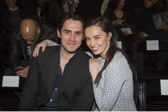 This is Richard with his partner, Cara Gee. Another friend from TO. Small world. Small world indeed...