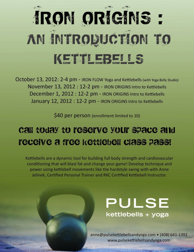 PULSE Intro to Kettlebells Flyer