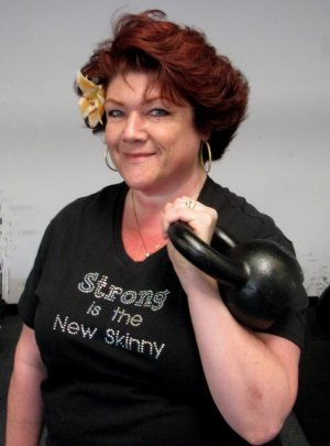 Jen ... our Glam Kettlebell Icon.
