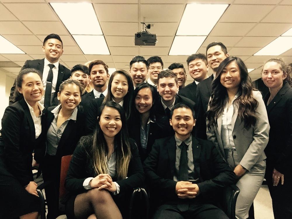 San Francisco, CA:Kappa Pledge Class accompanied by Pledge Educators, Michael Park and Gina Huynh.