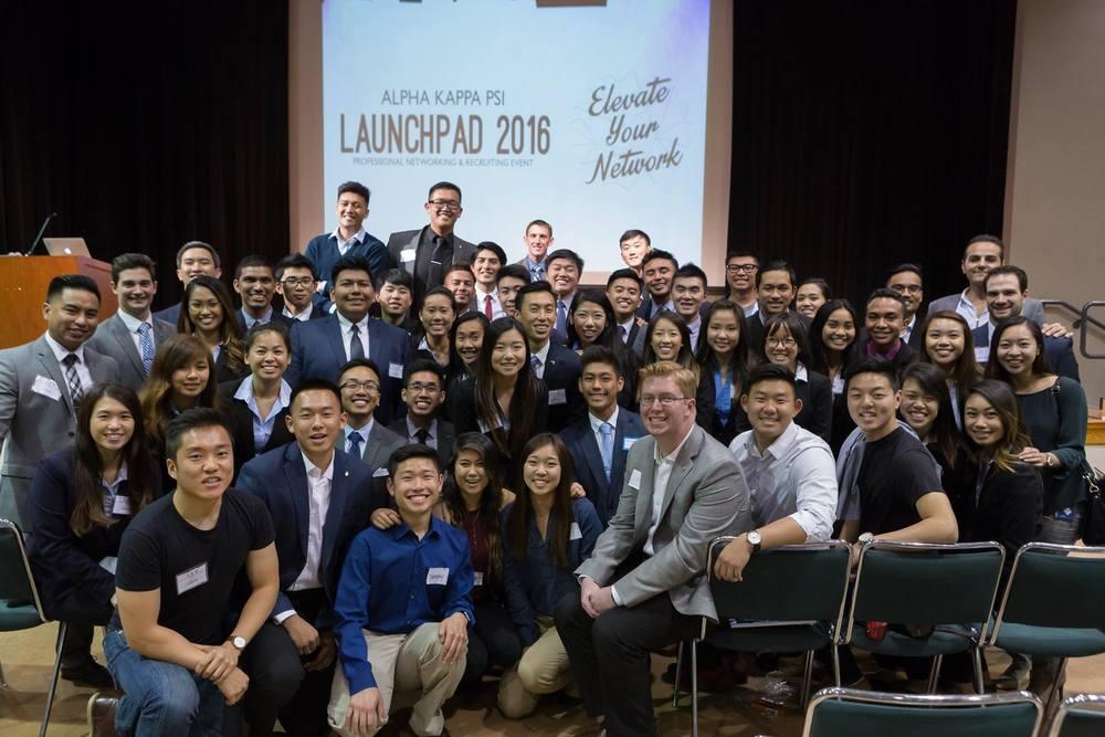 SAN FRANCISCO, CA: LaunchPad 2016 - AKPSI MEMBERS FROM SFSU, SJSU, UC MERCED, AND PEPPERDINE
