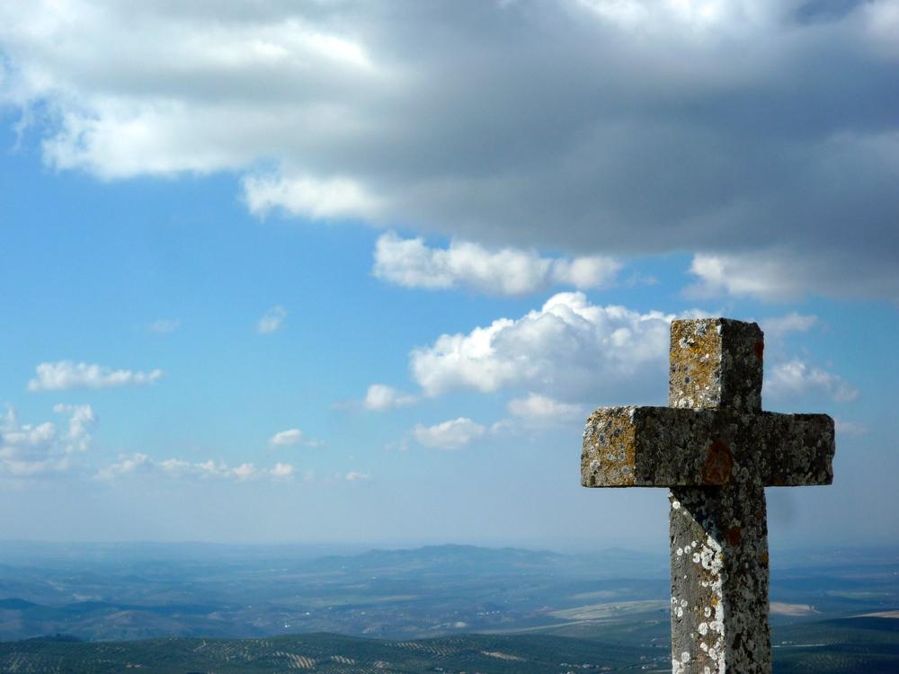 On top of the Sierra de Aras