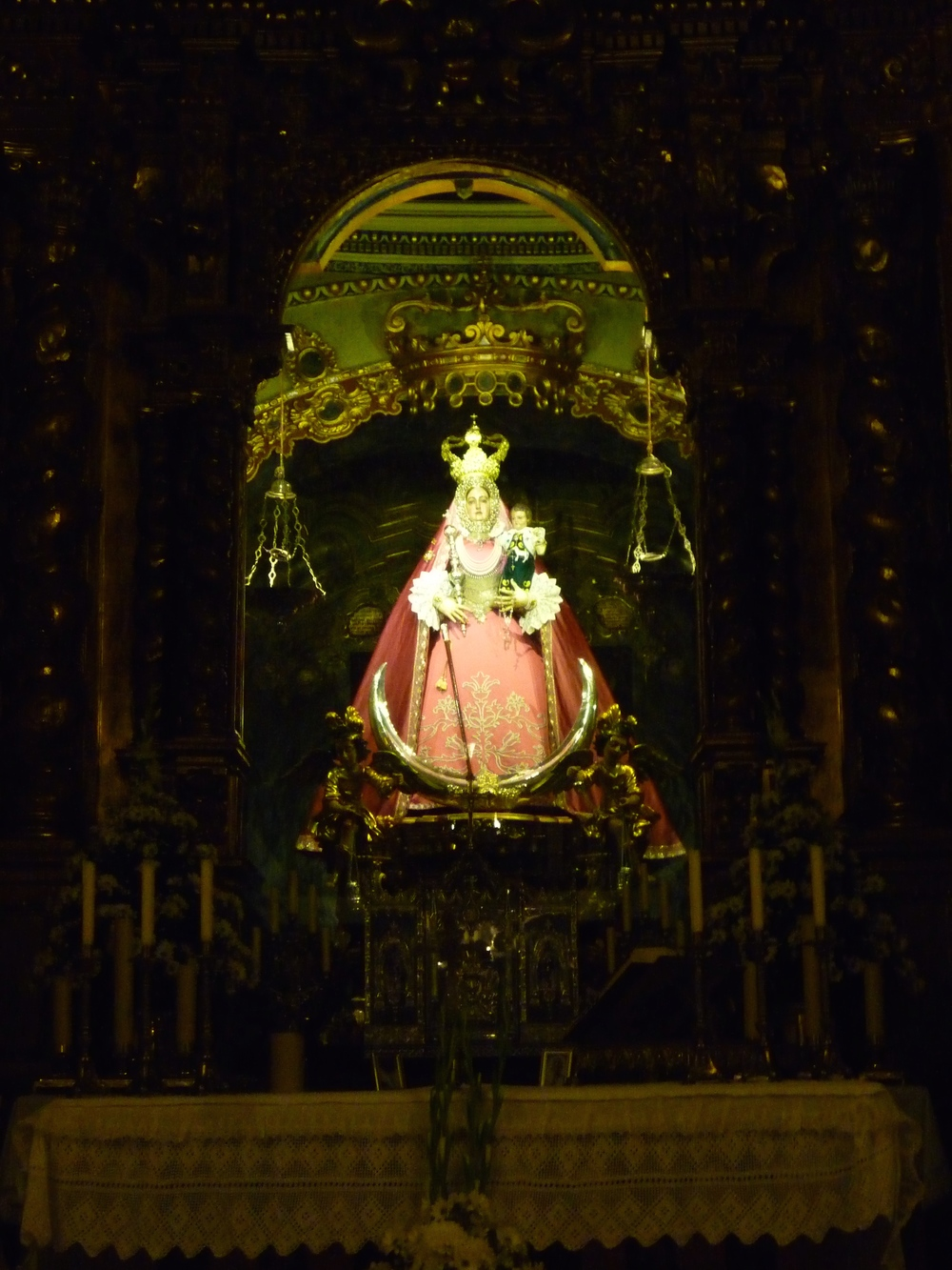 The Virgen de Araceli
