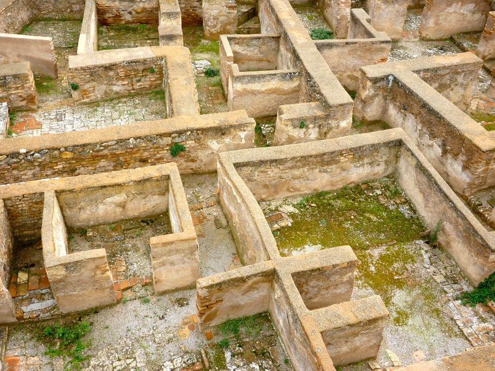 Inside theAlcazaba