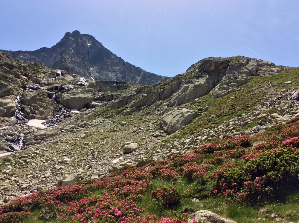 Balaïtous, first peak above 3000 meters