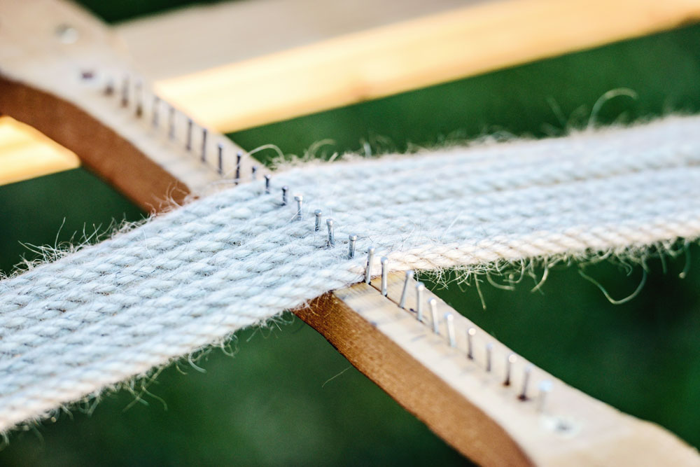 Huston weaving cinches