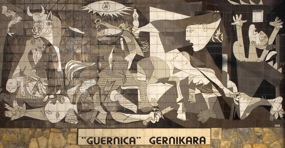 "Picasso's ""Guernica,"" considered to be ""to painting what Beethoven's Ninth Symphony is to music"" (Alejandro Escalona), brought worldwide attention to the Spanish Civil War. The soldiers on the battlefront of the war, however, found their comfort in the language of Pablo Neruda."