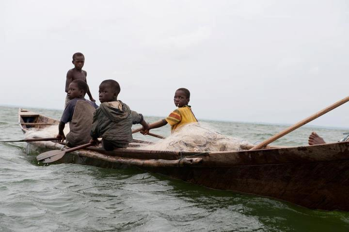 Children sold into slavery in the fisheries of the Lake Volta region in Ghana. Source:  touchalifekids.org