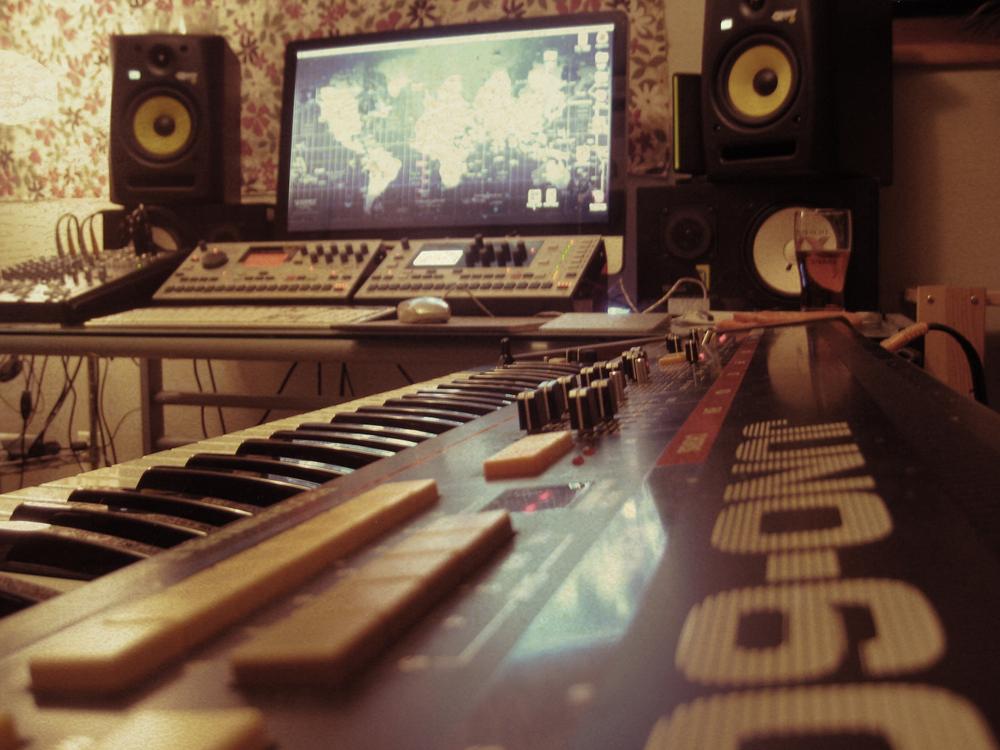 Sometimes the design studio turns into a music studio!