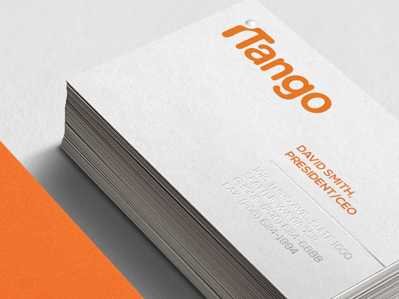 iTango stationery