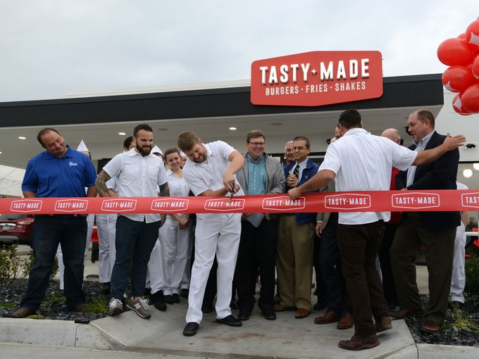 TastyMade_ribbon cut.JPG