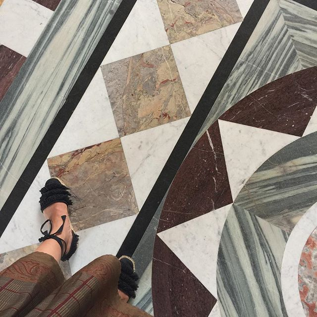 Louvre marble floors are everything // @cvmayer via #paris