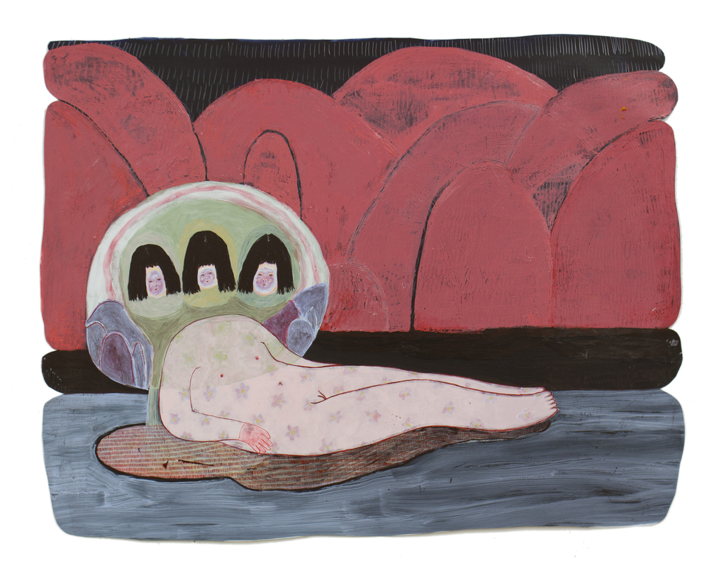 Confused Odalisque / 2014