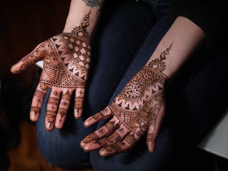 Mehndi Ankle Instagram : Kenzi henna exquisite body artkenzi
