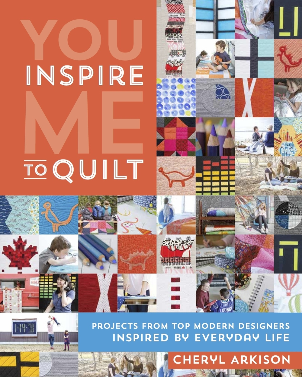 Turn inspiration from your daily life into meaningful and fun quilt designs.  Popular quilt designers share 10 complete quilt patterns, plus advice and wisdom on the art of quilt making. See how ideas from people, places, and things become original design concepts. Inclides compelling designs from Jen Carlton-Bailly, Cynthia Frenette, Carolyn Friedlander, Andrea Harris, Rossie Hutchinson, Heather Jones, Amanda Jean Nyberg, and Blair Stocker. Ask for You Inspire Me To Quilt in your local quilt shop or pick it up online. *I am available for retreats and workshops to help you create your unique design.