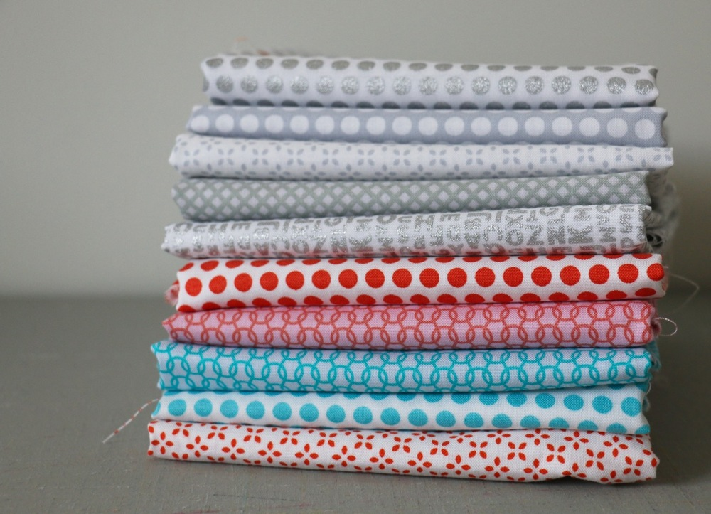 Low Volume Uppercase Fabrics