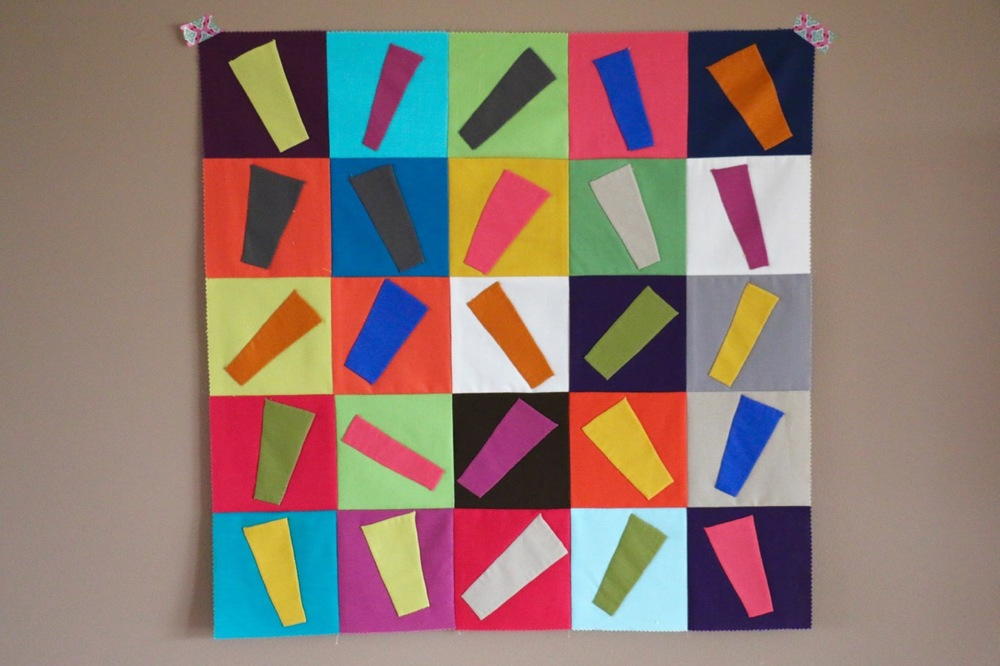 Improv Applique Quilt Top