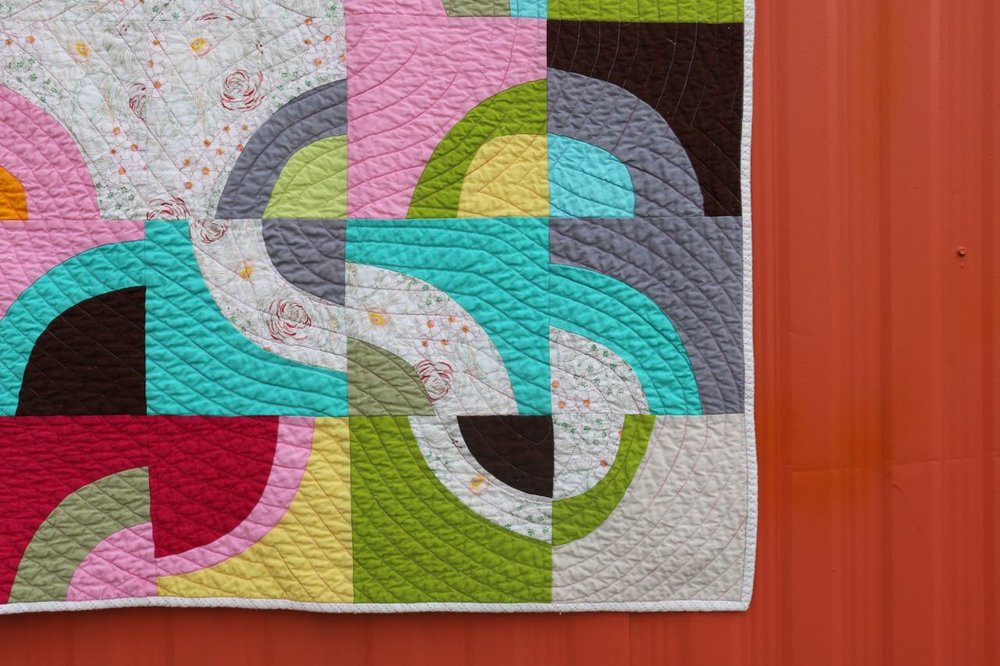 Morning Make Corner - Improvisational Curves in Quilting