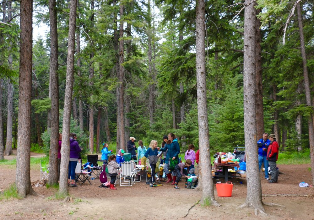 Picnic in Fish Creek