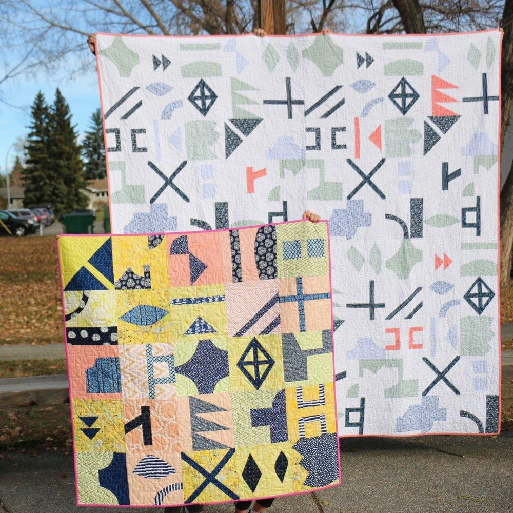 Lilla Quilt Improv Quilt Pattern