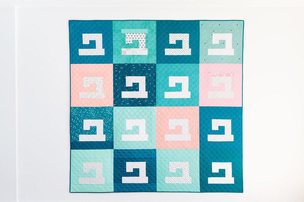 Sewing Machine Quilt Pattern Drop