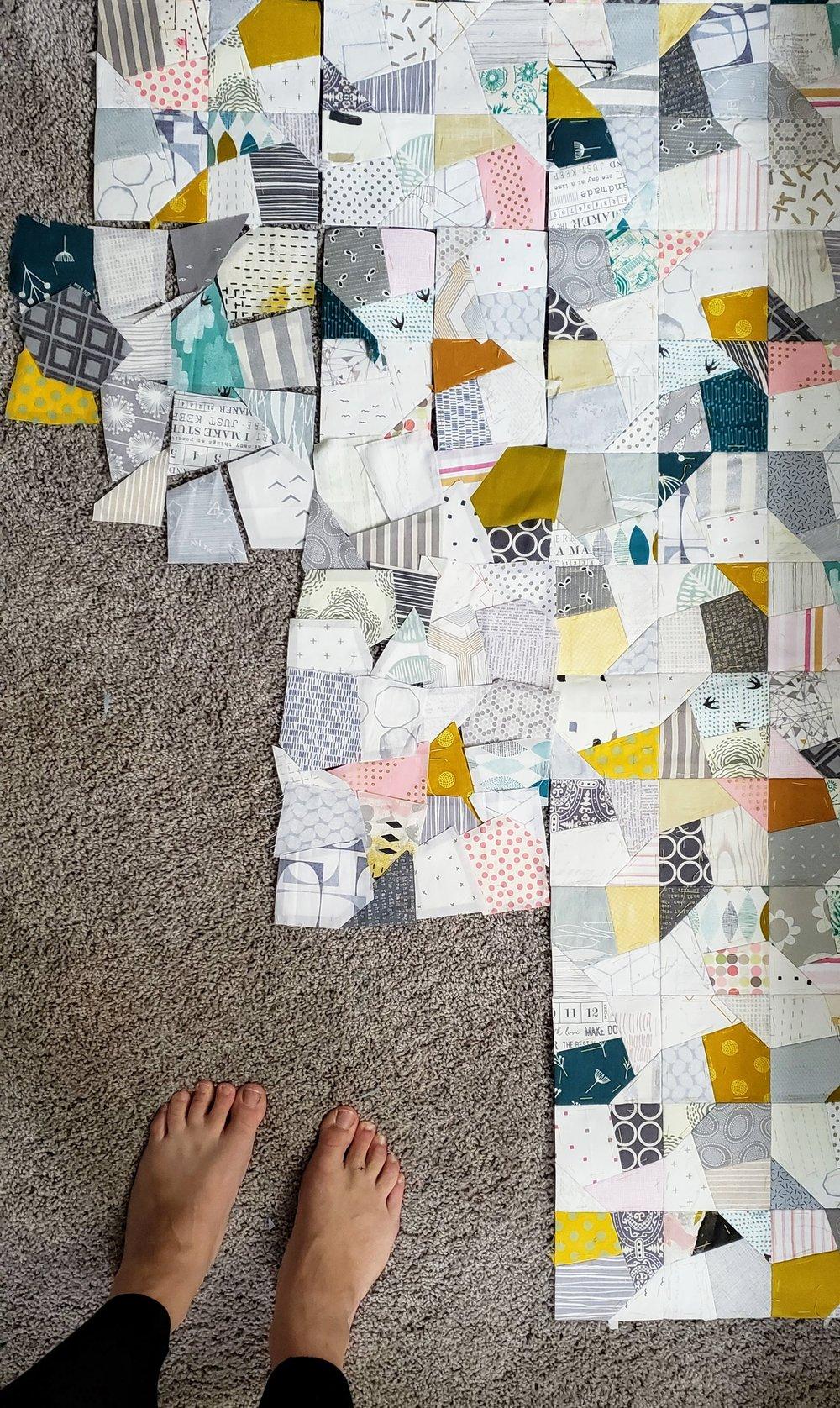 Euroa Quilt Modern Scrappy Quilts