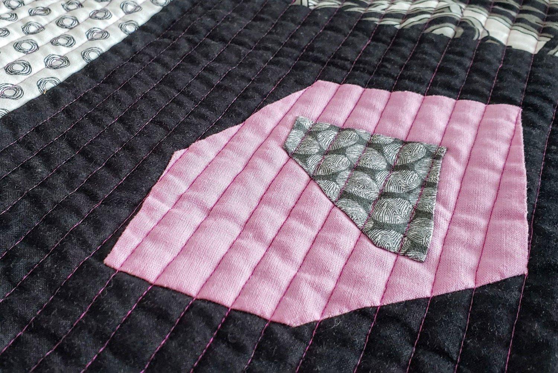 Pocket squares improv applique with tag fabrics u2014 cheryl arkison