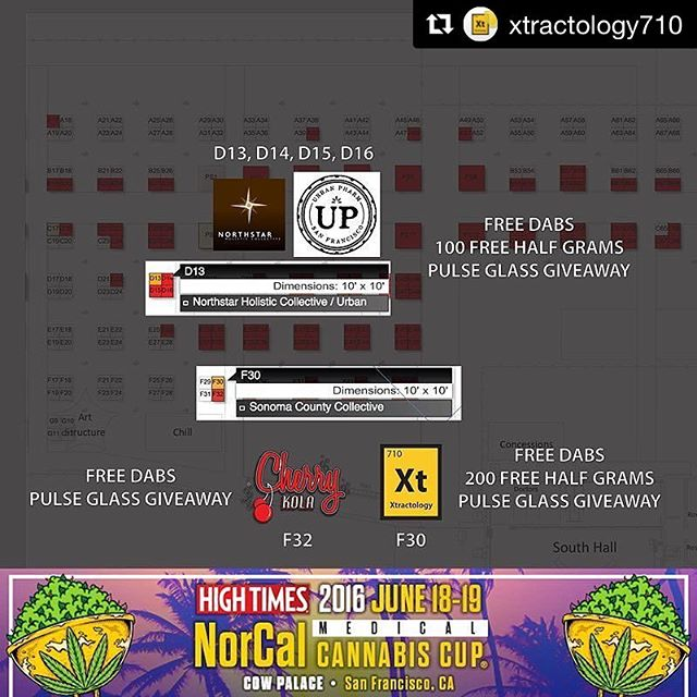 #Repost @xtractology710 ・・・ Only 2️⃣ DAYS until the 2016 NorCal Medical #CannabisCup.  #FreeDabs🔩 #GiveawayHalfGrams🎁 #GlassGiveaways🔮 @xtractology710 @cherrykola707 @scc.707 @urbanpharmsf @916nhc  #xtractology#bho#dabbersdaily#weedstagram#labtested#sugarwax#thc#terpy#highlife#prop215#mmj#dab#topshelf#liveresin#soil2oil#nugrun#shatter#highsociety#errl#clarity#terps#bhomb#wfayo#bitxhimhigh