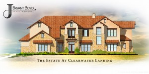 Front Elevation of The Estate at Clearwater Landing